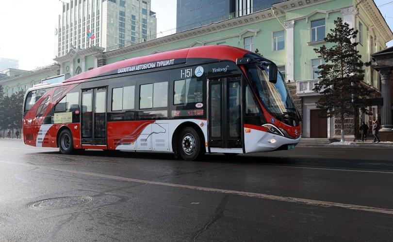 다음 달 2일까지 전기 버스 시험 운행 중.jpg