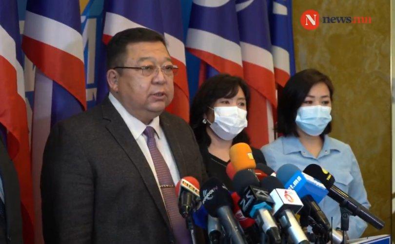 민주당 S.Erdene 대표는 사임하여.jpg