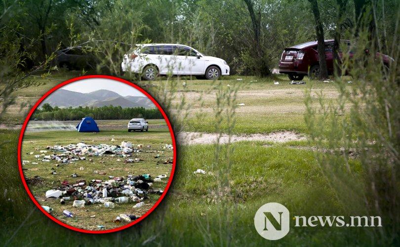 국내 관광객은 하루에 2000t의 쓰레기를 버려.jpg