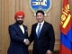 U.Khurelsukh 총리, 몽골주재 인도 Singh 대사와 만나