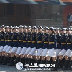 러시아 전승기념일 퍼레이드