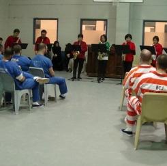 美한인오페라단 교도소 성탄공연