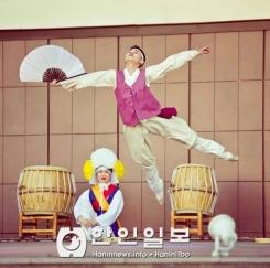 고려극장, 알마티 메가센터에서 거리 콘서트 개최