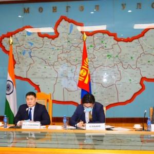 몽골-인도 공동협력위원회 회의를 개최하여