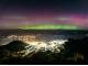 밤하늘 휘황 찬란하게 수놓은 남극 오로라 출현