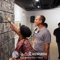 한국현대수묵화 뉴욕특별전 성황