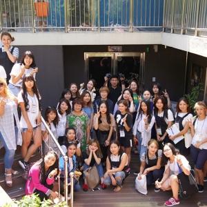 고려인 직업연수 참가자들, 안산 고려인 마을서 미용봉사