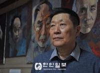 고려인지도자 초상화 그리는 사람, 동포 화가 문 빅토르
