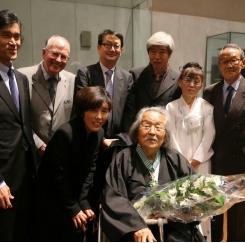 102세의 한묵 화백, 프랑스 문화훈장 수훈