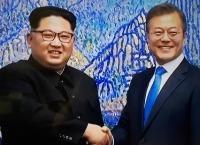 트럼프의 위협에 함께 대응하는 남북한