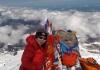몽골 여성 베. 강가마, 몽골 최초 K2봉(峰) 정상 정복