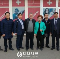 충북 카자흐스탄 사절단, 캅차가이 시 방문