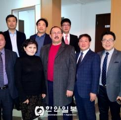 충북도 카자흐스탄 사절단, 현지 주요언론인 초청 간담회 가져