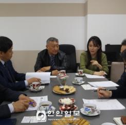 충북도 카자흐스탄 사절단, 세종유라시아병원 방문