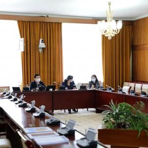 임시위원회가 정부에 Oyu Tolgoi 문제에 대한 중재 재판소에 즉각적인 답변을 제출하도록 지시하기로 결정
