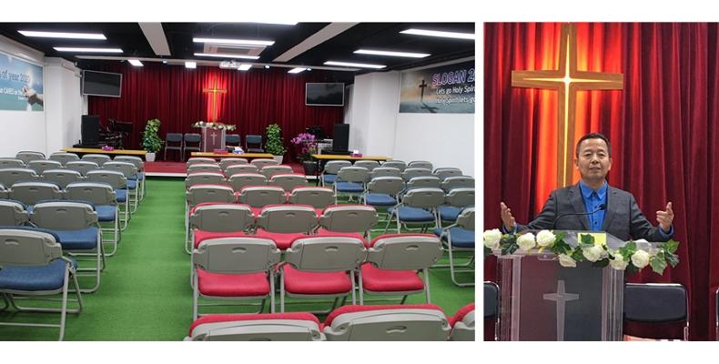 홍콩 순복음 구룡교회 (Full Gospeol Kowloon Church) 정인욱 목사