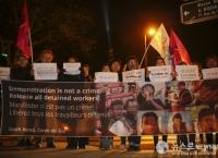 韓여성 프랑스24TV '박근혜게이트' 토론방송 화제