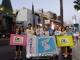 LA서 '강명구 평화마라톤' 지지 행진