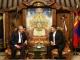 Mustafa Hatta 터키 국회의장 Kh.Battulga 대통령 만나