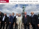 푸시킨 동상 앞에서 열린 러시아 도서축제