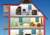 NSW-VIC, 방 남아도는 주택 10만채