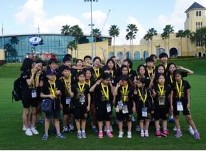한국블랙이글스 국제치어리딩대회 5위